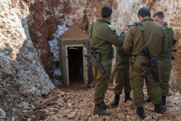 """צפו: צה""""ל מתכונן לפיצוץ מנהרת חיזבאללה"""