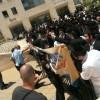 דיון בהארכת מעצר לרב ברלנד; חסידיו מפגינים
