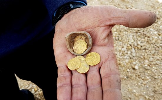 מטמון הזהב מיבנה, צילום: ליאת נדב-זיו, רשות העתיקות
