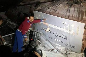 זהו מטה חמאס שהופצץ בעזה