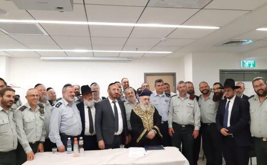 מפגש הרבנות הראשית עם הרבנות הצבאית