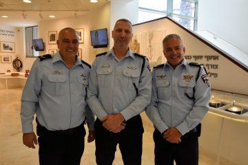 רחובות: מפקד חדש במשטרת המרחב