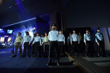 משטרת ישראל התייחדה עם חלליה