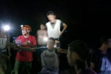 נהג ההסעות דיווח: המשפחה נעדרת • 16 נפשות חולצו ממערה מסוכנת