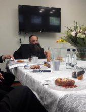 חברת הכנסת מ'כחול לבן' התקבלה בסמינר החסידי