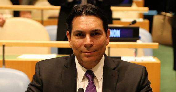 """דני דנון לאו""""ם: """"ההחלטה שקיבלתם נגד ישראל סיפקה השראה למחבל מארמון הנציב"""""""