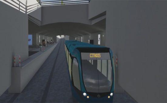 הדמיית רכבת תחתית