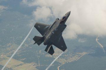 """הטייס שמטיס את ה'אדיר' במסר לישראל: """"רגע היסטורי"""""""