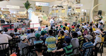 """המוזיאון שמחייה את החיות בתקופת התנ""""ך"""