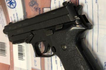 3 חשודים בגניבת רכב ואחזקת אקדח
