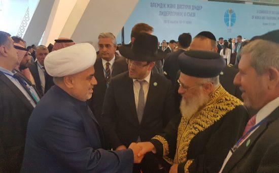 הראשון לציון ומנהיגי דתות