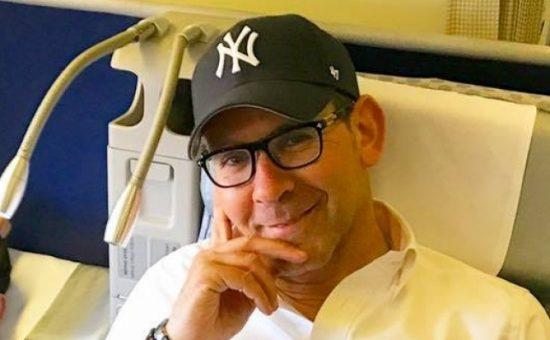 ישי לפידות במטוס