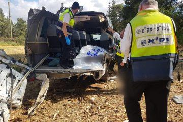 תאונה קשה: הרוגים ופצועים בכביש 443