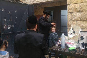 תיעוד: ישראל פרוש הגיע למירון