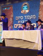 תיעוד נדיר: חיים ישראל והמקהלה החסידית