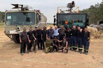 """שיתוף הפעולה הבינלאומי במבצע """"אש חמה"""""""