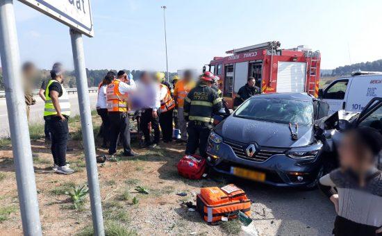 תאונה ליד קרית גת