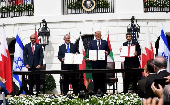 """טקס חתימת הסכם השלום בוושינגטון. צילום אבי אוחיון לע""""מ"""