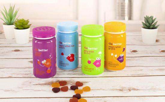 Be משיקה את סדרת Be better ויטמינים לילדים