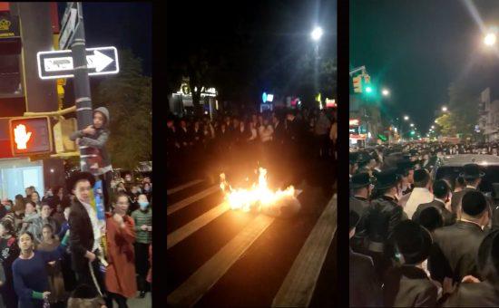 יהודים מפגינים בניו יורק