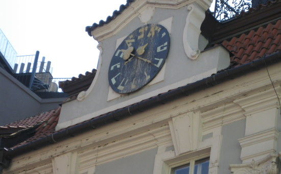 השעון העברי בפראג (ויקיפדיה)