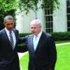"""מנהיגים – וחברים •  יחסי ראשי הממשלות ונשיאי ארה""""ב לדורותיהם • פרויקט מיוחד"""