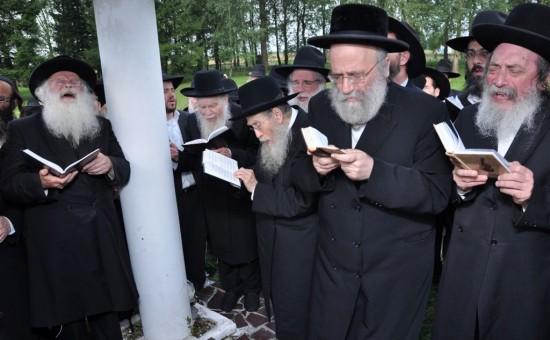מסע הרבנים לוילנא בשנה שעברה