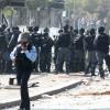 """ח""""כ חנין זועבי נעצרה ונאזקה בהפגנה פרו-פלסטינית"""