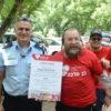 הנהלת ארגון 'לב מלכה' העניקה תעודת הוקרה למשטרת מחוז צפון על הסיוע התמידי לילדים החולים