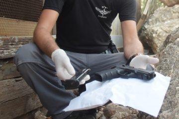 9 חשודים והרבה נשקים – פשיטה של משטרת ישראל