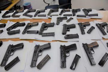 צפו: ניסו להבריח אקדחים מירדן לישראל