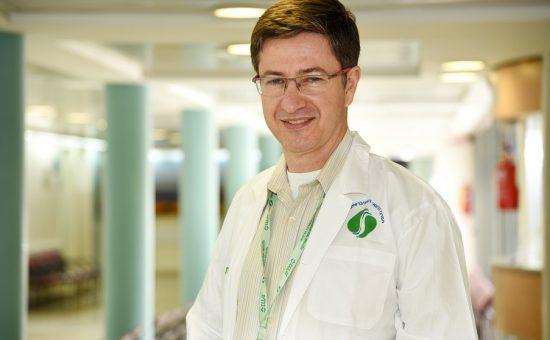 פרופ' יוסף חביב, מנהל המחלקה לנפורלוגיה בסורוקה  צילום: רחל דוד- סורוקה