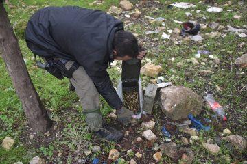 תיעוד: השוטרים חשפו מטענים ונשק