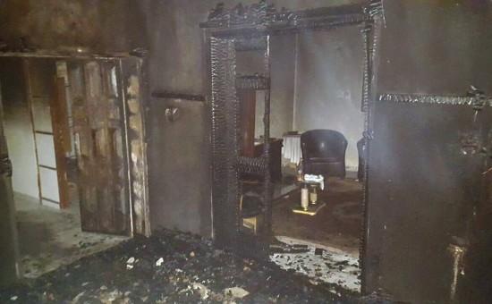 הצתת בית המשפחה בדומא. צילום: מתוך ויקיפדיה.