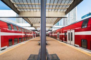 תיעוד קשה: נמלט מהרכבת בשניה  האחרונה