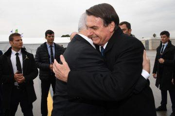 """נשיא ברזיל נחת בישראל. נתניהו: """"פתחנו עידן חדש"""""""