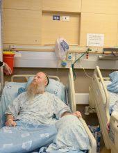 הנשיא ריבלין ניחם בבית החולים