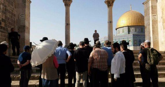 """תביעה של עשרות אלפי ש""""ח נגד איש וואקף שתקף יהודי בהר הבית"""