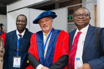 אפריקה: אות כבוד לרופא הישראלי