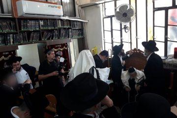 שני מזגנים חדשים בבית הכנסת לדרמן