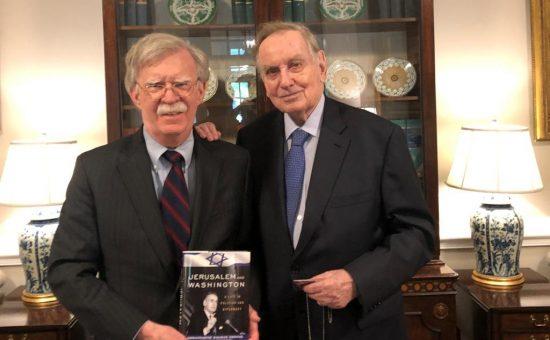 מימין: זלמן שובל וג'ון בולטון