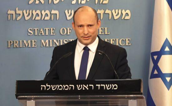 """ראש הממשלה נפתלי בנט, צילום לע""""מ"""