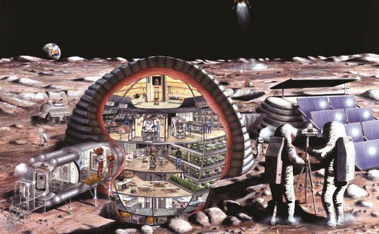 דירה על הירח