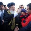 """הגר""""ש עמאר סייר במחנה יהודה בשנית • גלריה"""