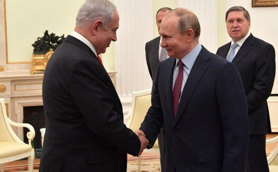 """פגישת ראש הממשלה בנימין נתניהו עם נשיא רוסיה ולדימיר פוטין בקרמלין, מוסקבה. צילום - קובי גדעון / לע""""מ"""