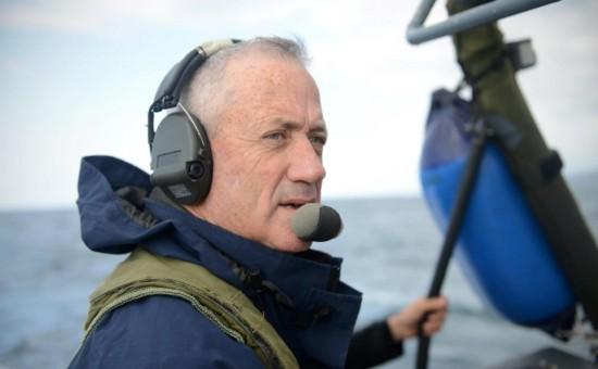 """ביקור הפרידה של הרמטכ""""ל, רב-אלוף בנימין (בני) גנץ, מזרוע הים. צילום: דובר צה""""ל"""