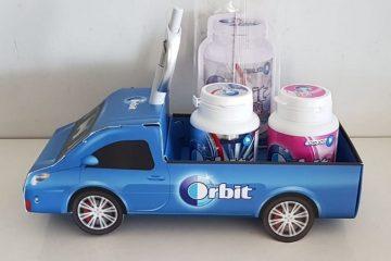 Orbit מרענן ומפנק לכם את הרכב
