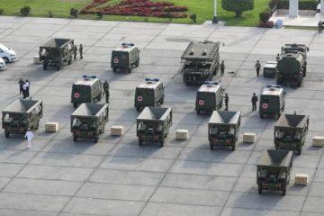 חברת ק.א.ל תוביל ציוד הומניטרי לסין