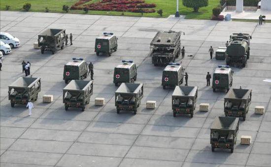 ציוד הומניטרי בסין