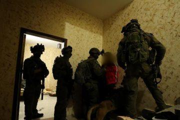 תיעוד: מעצר מחבל בכפר תקוע